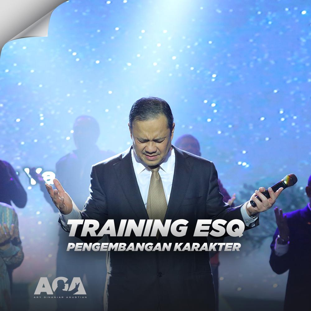 Mencapai Pengembangan Karakter Melalui Training ESQ - Ary Ginanjar Agustian