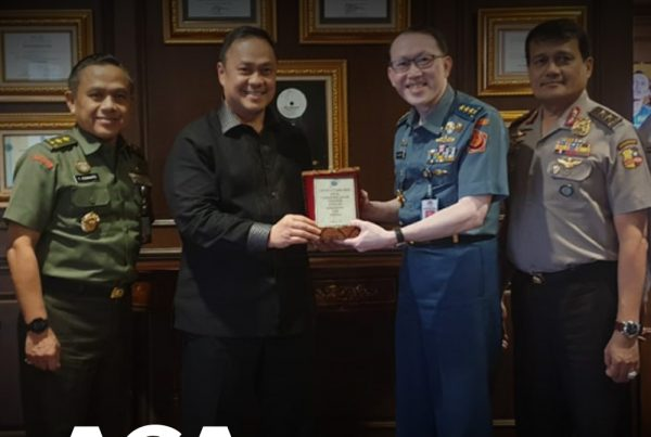 Ary Ginanjar Agustian Bela Negara Bersama ESQ dan Dewan Ketahanan Nasional (Wantannas)