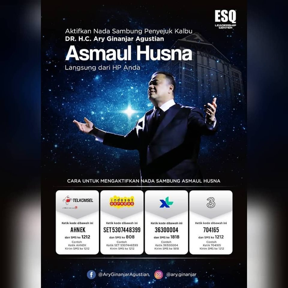 RBT Asmaul Husna - DR H.C Ary Ginanjar Agustian